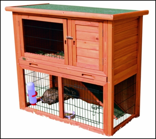 Two level dwraf Rabbits hutch