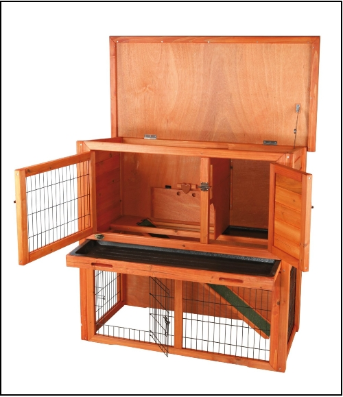 dwraf Rabbits hutch